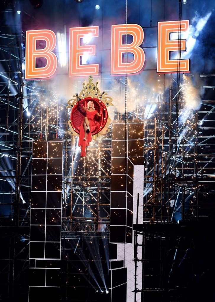 ROTTERDAM, NETHERLANDS - NOVEMBER 06:  Bebe Rexha performs on stage at the MTV Europe Music Awards 2016 on November 6, 2016 in Rotterdam, Netherlands.  (Photo by Ian Gavan/Getty Images for MTV)