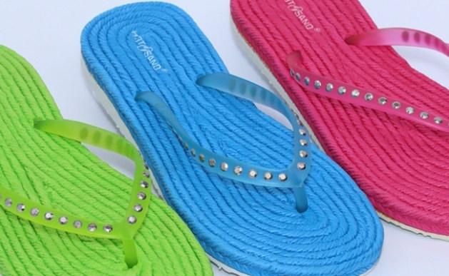 DeFonseca és Hotsand márkájú strand- és szobapapucs