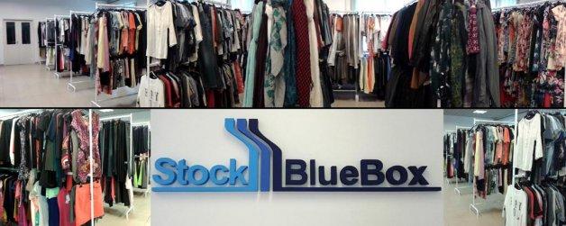 Stock Blue Box márkás outlet ruha kereskedés 7db4dad84e