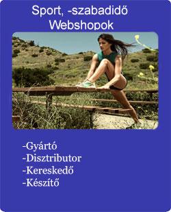 sport szabadidő divatáru webshop