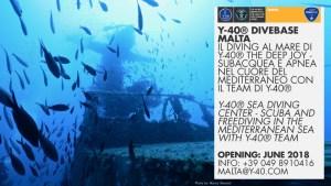 Y-40® DiveBase Malta first news.