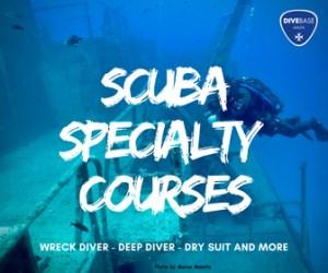 Scuba Specialty courses