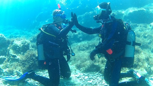 DiveBase_first_experience