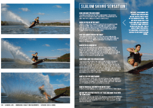 liquidlife, slalom skiing,sunshine coast
