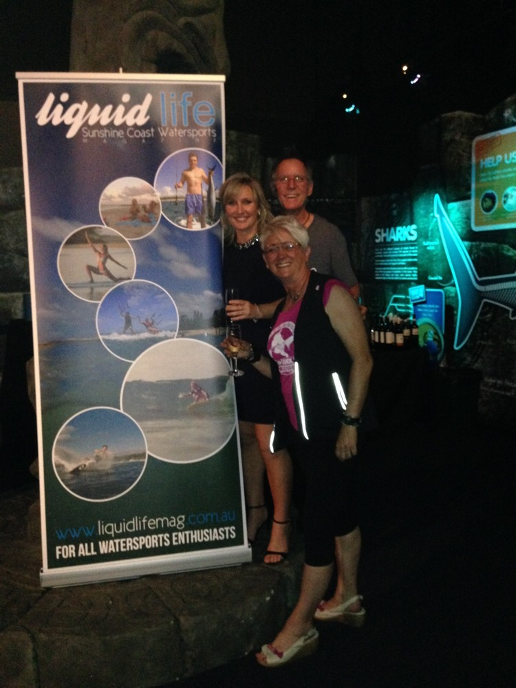 Liquidlife magazine Sunshine Coast launch at Sealife Mooloolaba QLD