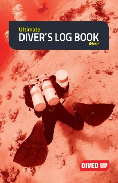 9781909455078 Ultimate Diver's Log Book (mini) - cover