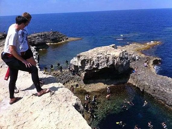 Favourite Dives on Gozo: Blue Hole dive site at Dwejra