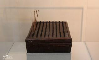 Räucherstäbchen-Uhr