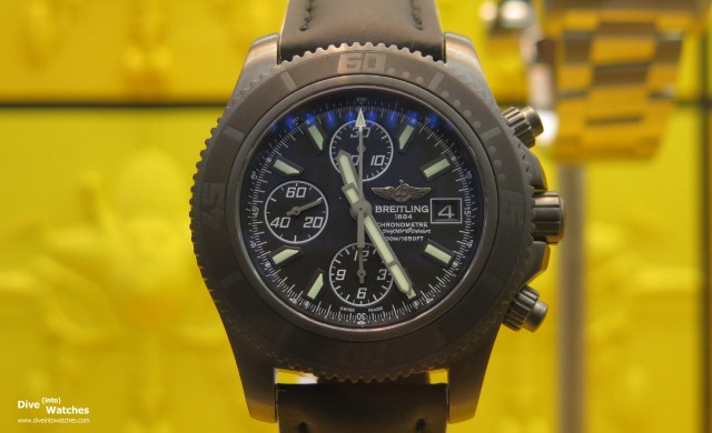 Breitling_SuperOcean_Chrono_Blacksteel_Front_London_2014