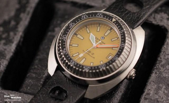Certina_DS-2_SuperPH_1000M_Yellow