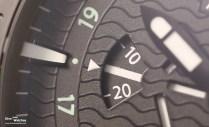 Close-Up: Die als Scheibe ausgeführte kleine Sekunde bei 9 Uhr
