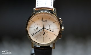 Chronograph Watch Prize: Piaget Altiplano Chrono