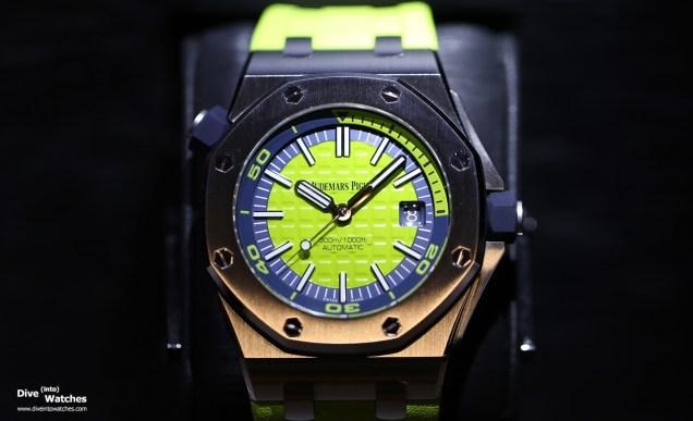 audemars_piguet_roo_diver_green_dial_front_sihh_2017