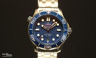 Omega_Seamaster_300_Diver_Blue_Front_Baselworld_2018