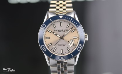 Raymond_Weil_Diver_Blue_Front_Baselworld_2018