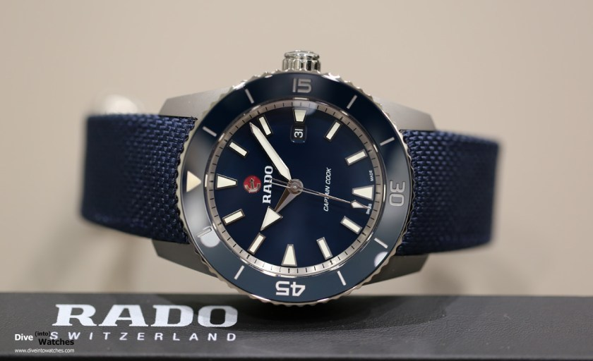 Rado Hyperchrome Captain Cook 45 mm