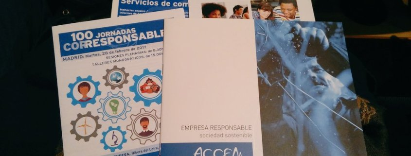 Jornadas Corresponsables, ODS, RSE, Accem; empresas,