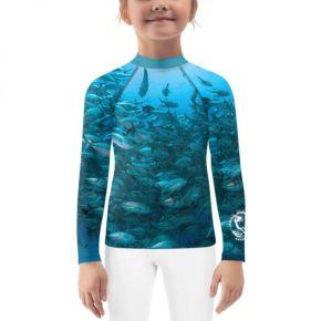 Diver Dena's Adventure Shop~Fintastic Fish Little Kids Rash Guard Top