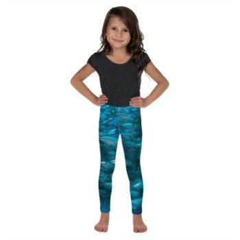 Diver Dena's Adventure Shop - Fintastic Fish Kid's Leggings