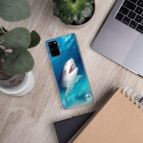 Diver Dena's Adventure Shop-Happy Shark Samsung Phone Case