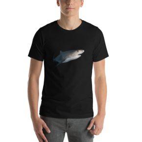 Diver Dena's Adventure Shop- Tiger Shark T-shirt