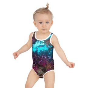 Diver Dena's Adventure Shop-Spectacular Reef Little Girls Swimsuit 2T-7