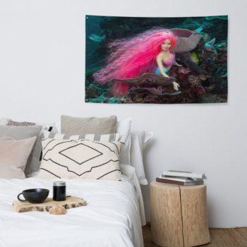 Diver Dena's Adventure Shop-Mermaid Barbi Flag