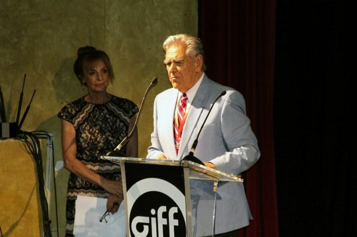 La trayectoria del actor fue celebrada en la apertura del festival que arrancó en San Miguel de Allende
