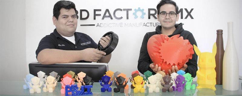 3D Factory MX se suma al creciente grupo de empresas mexicanas que imprimen con tecnología 3D en Nuevo León. Foto: Conacyt/Divergente.info