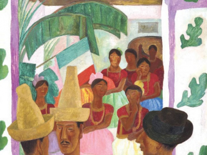 A la venta, obra de Diego Rivera