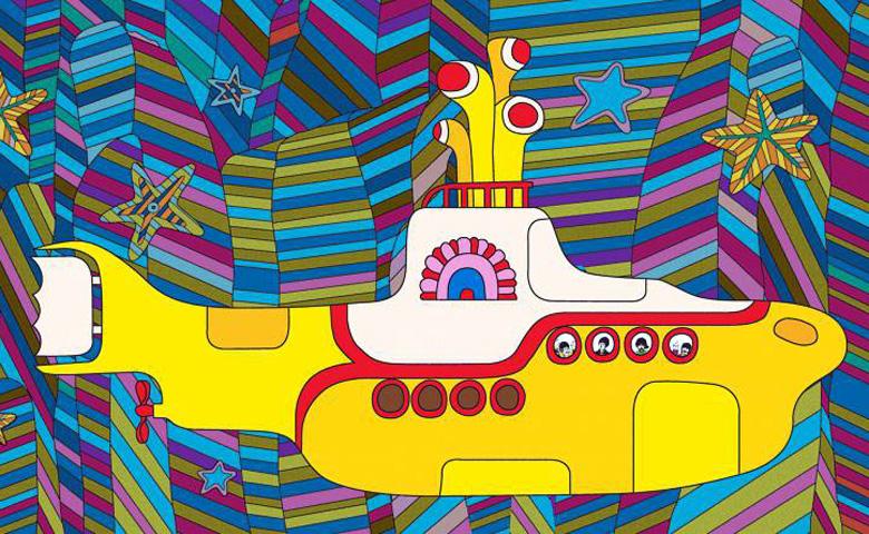 El submarino amarillo de los Beatles vuelve al cine en 4K