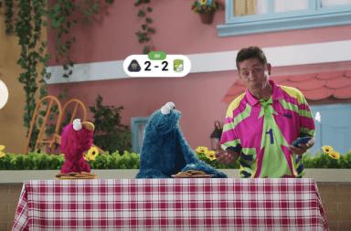 Campos, Elmo y Come Galletas te presentan el marcador de Google