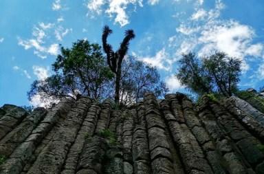 De Mochilazo | Los Prismas Basálticos de Huasca