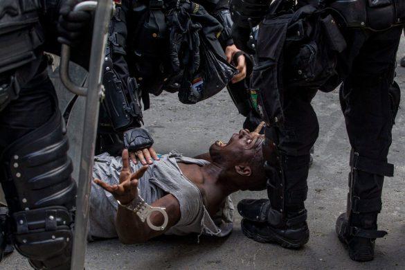 Colombia Resiste | Santiago Mesa - ganadora en la subcategoría Streetphotography