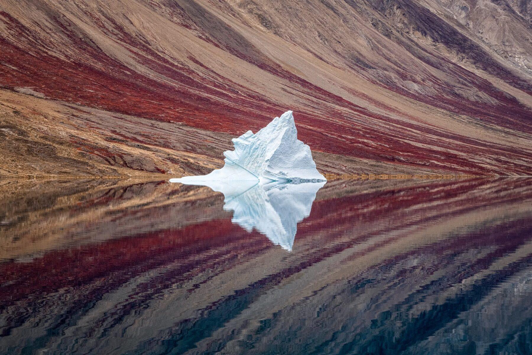 Ice Reflections | Craig McGowam - ganadora en la subcategoría Landscape