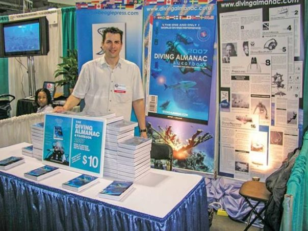 Jeffrey Gallant at Beneath the Sea, New Jersey, 2006