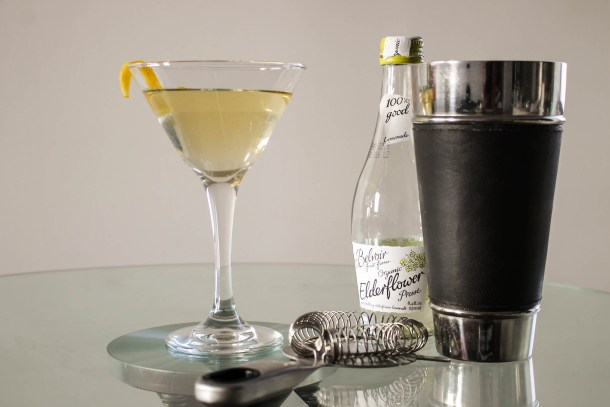 Organic Elderflower Presse Martini