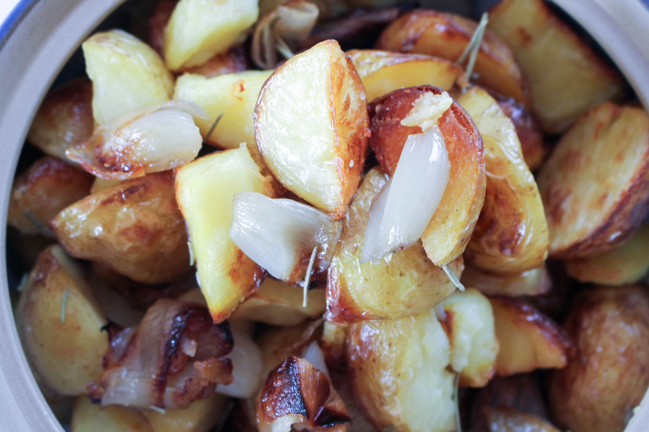 Roasted Potatoes and Shallots | DIVERSE DINNERS