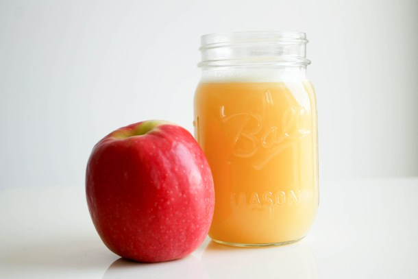 Raw manuka honey apple juice