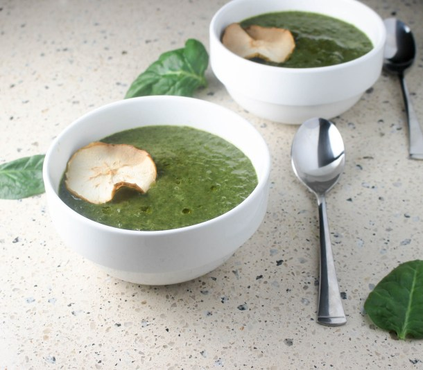 Spinach Soup by Diverse Dinners
