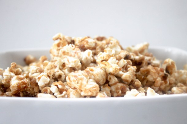 Maple Caramel Popcorn by Diverse Dinners