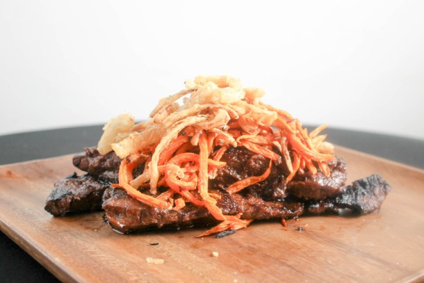 Skirt Steak Pile Up by Diverse Dinners