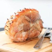 Baked Fresh Boneless Ham