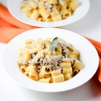 Butternut Squash Pasta with Turkey