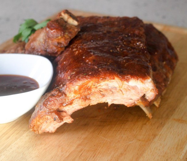 Baked Baby Back Barbecue Ribs by Diverse Dinners