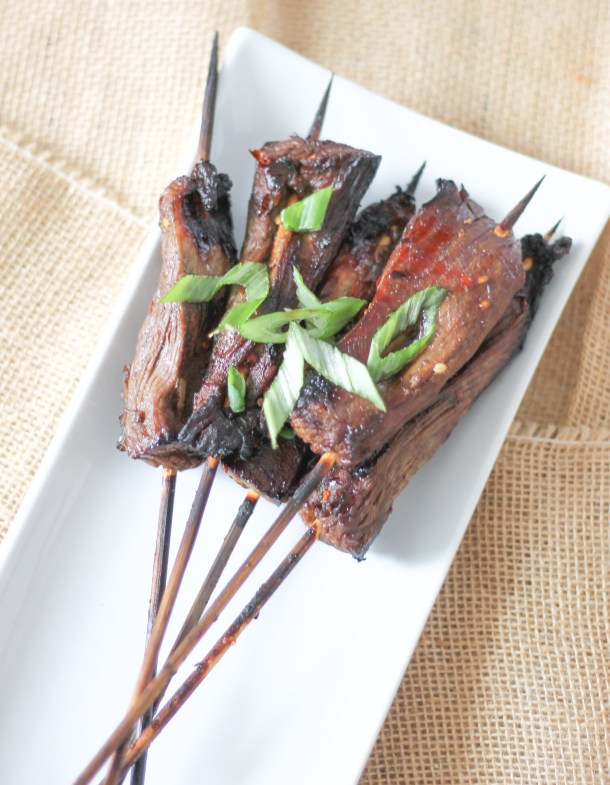 Skirt Steak Lollipops by Diverse Dinners