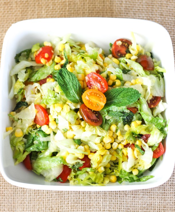 Buttered Corn Salad by Diverse Dinners