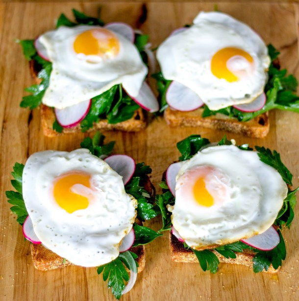 Egg on Toast by Diverse Dinners
