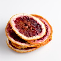 Sweetened Dried Blood Orange Slices