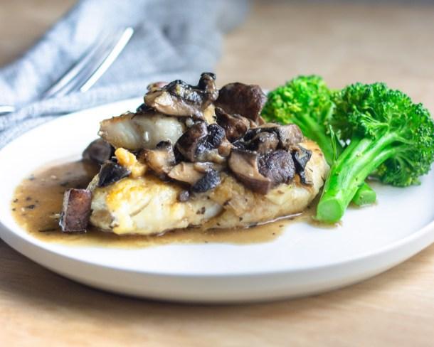 Miso Mushroom Haddock by Diverse Dinners